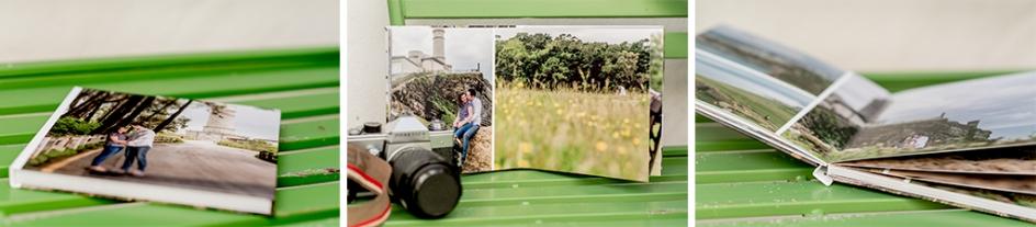 album caja regalo sesión de fotos en Salamanca