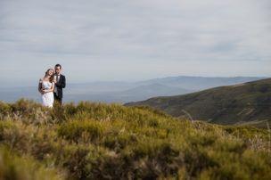 Reportaje de boda en La Covatilla