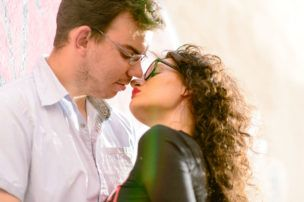 Sesión de fotos en pareja en Salamanca