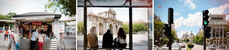 Sesión de fotos de preboda en Madrid